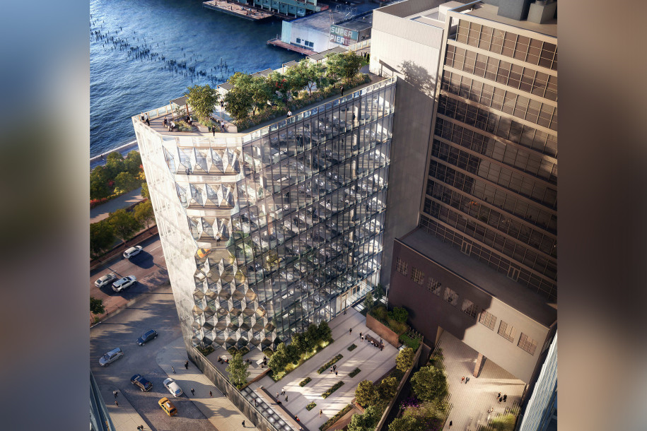 """GEA Projects in the News: Excavation at 40 Tenth Avenue """"Solar Carve"""" has begun!"""
