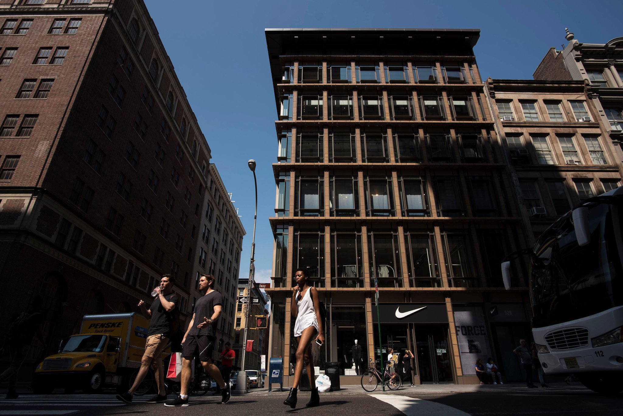 GEA Projects in the News: Nike's New SoHo Location Receives NY Times Acclaim