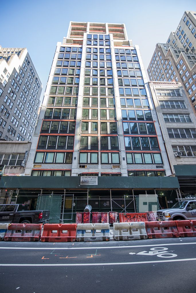GEA Project in the news: Residential Building at 221 West 29th Street nearing completion!