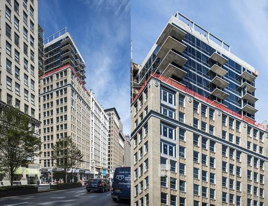GEA Projects in the news: Construction wraps on 444 Park