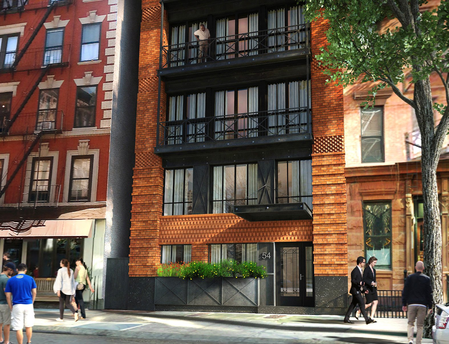 GEA Project in the News: 54 MacDougalStreet Revealed!