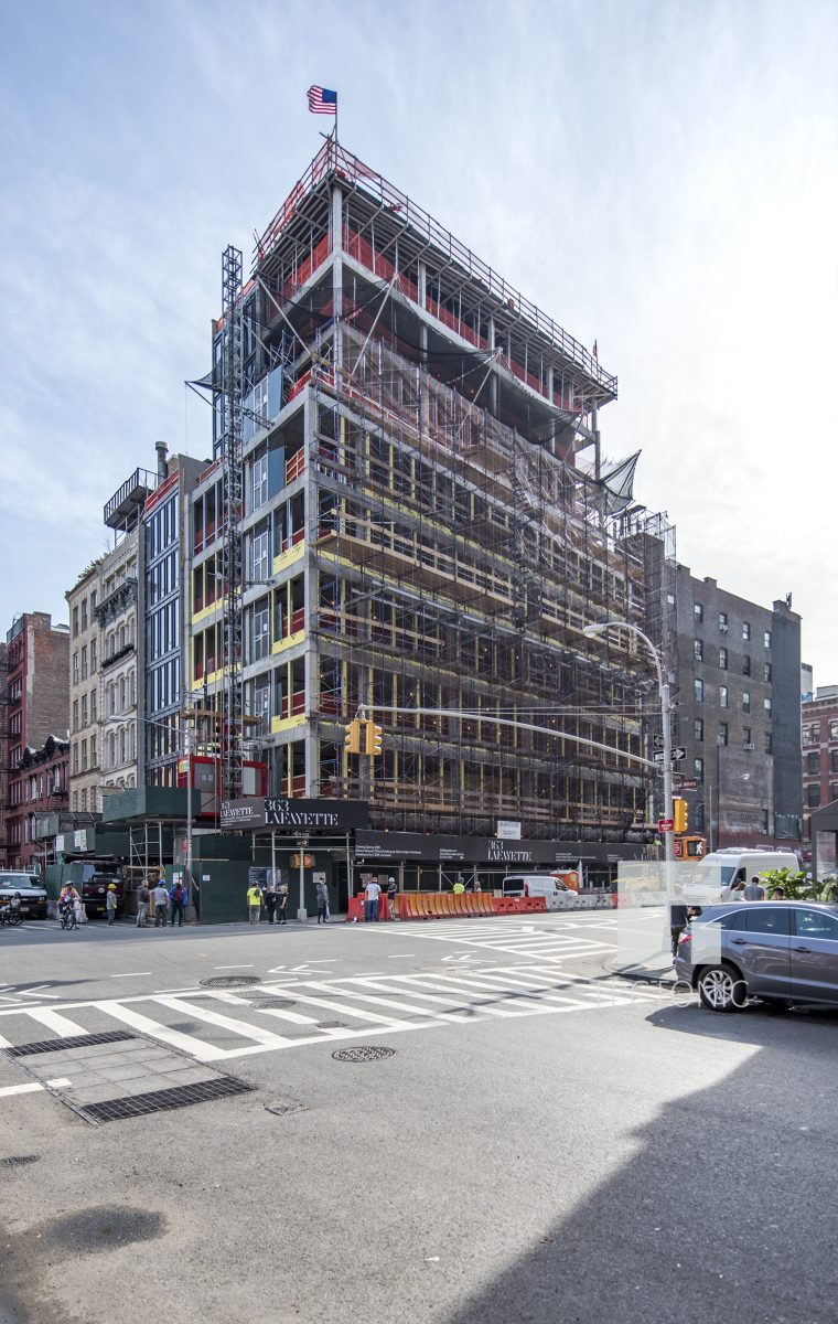 GEA Projects in the News: 363 Lafayette Street Tops Out!