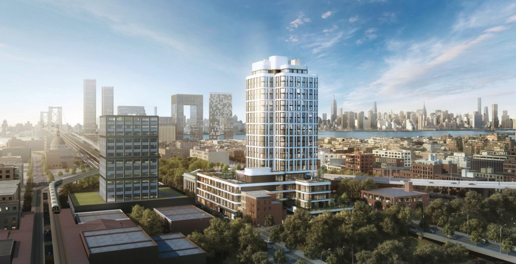 GEA Projects in the News. Dime Residential Tower Work Underway!