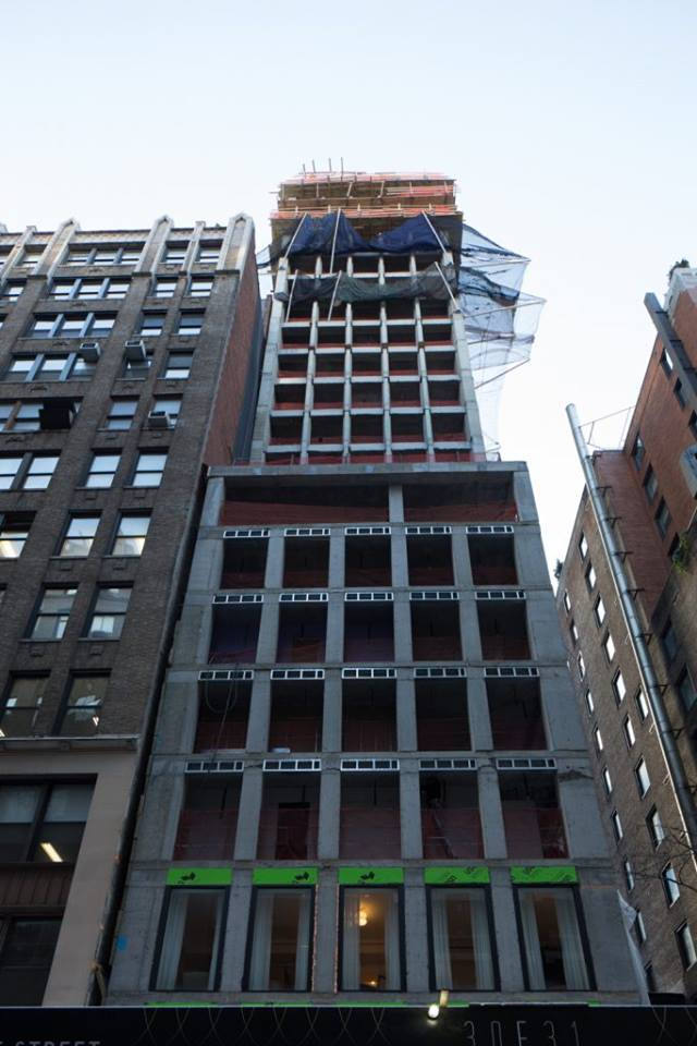 GEA Projects in the News: 30 East 31st Street Hits 50% Completion!
