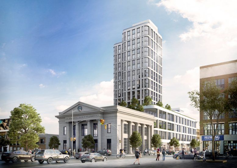 GEA Projects in the News: New Renderings for Dime Residential Tower!