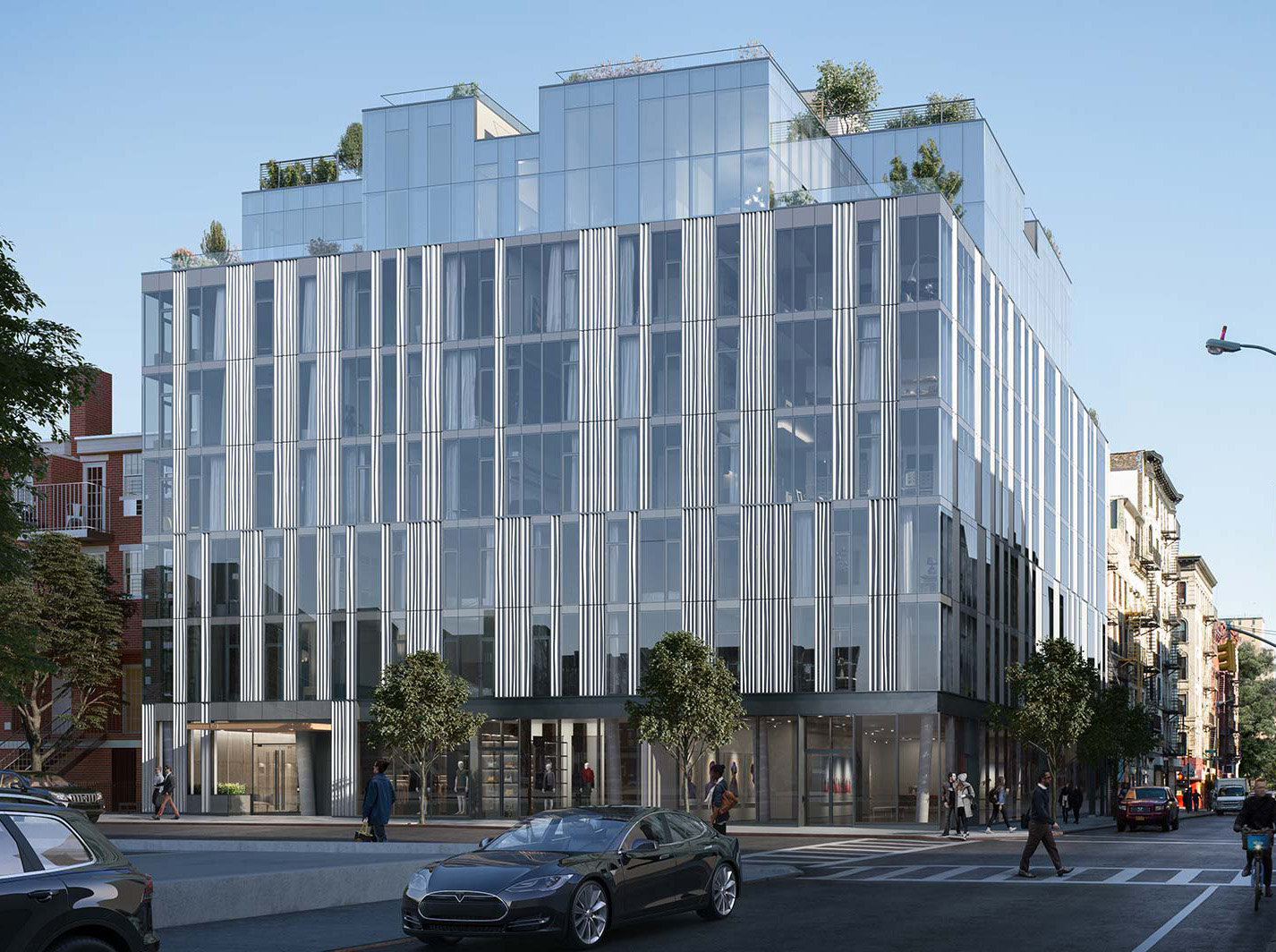 GEA Projects in the News:  150 Rivington Tops Out!