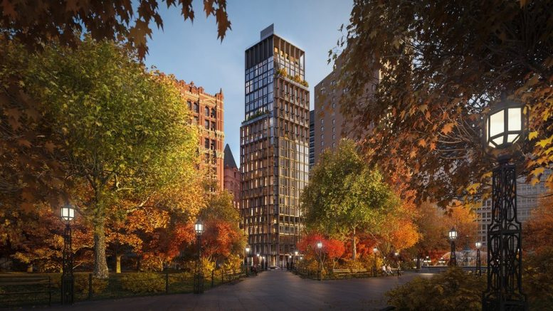 GEA Projects in the News:  1 Beekman Tops Out Above City Hall Park!