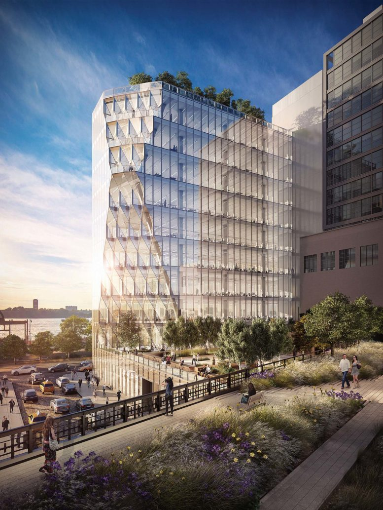 GEA Projects in the News: Solar Carve Gets Its Facade Underway!